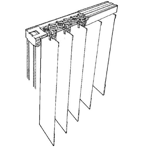 Vertical Blinds Window Treatments Pvc Com Bando Cear
