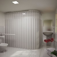 Hospital Shower Curtains - Shower Shield Curtain