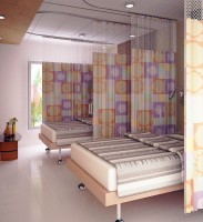 Cube Care Disposable Curtains For Healthcare Facilities