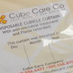 Disposable Curtains Reduce Healthcare Associated Infections